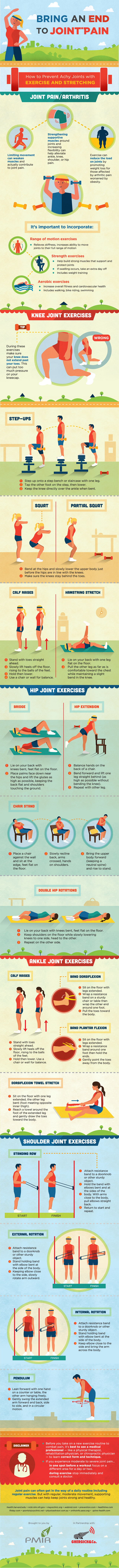 Bring An End To Joint Pain - Through Exercise and Stretching